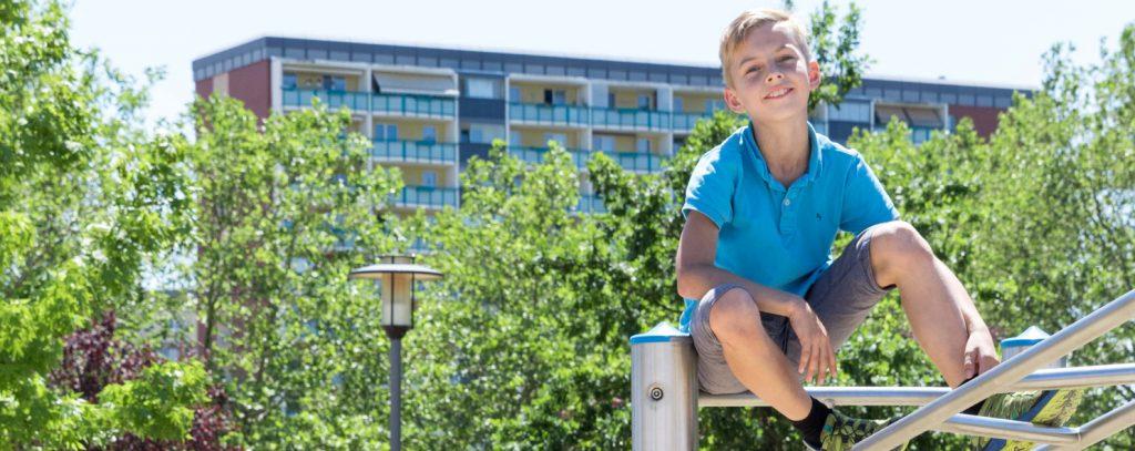 Kinder kommen hoch hinaus in der Familienregion Hoyerswerda
