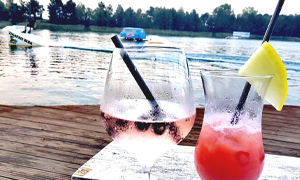 Gastronomie Cocktail am Halbendorfer See