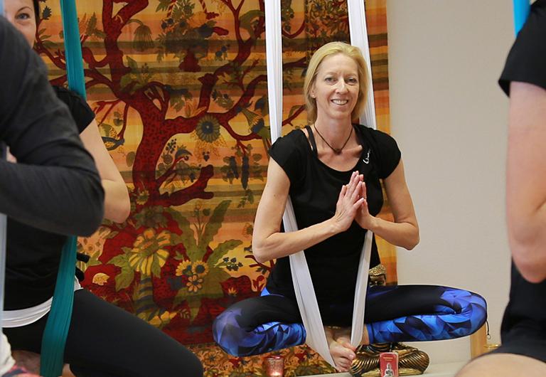 Hänge-Yoga in Hoyerswerda
