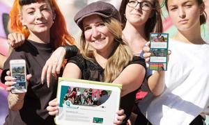Stadtmarketing Präsentation des neuen Webdesigns der Familienregion Hoyerswerda