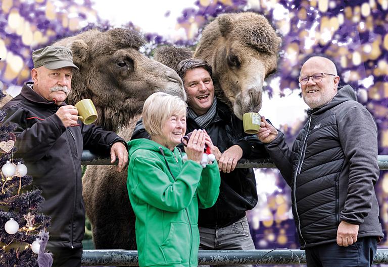 Zoofreunde Hoyerswerda in Weihnachtsstimmung