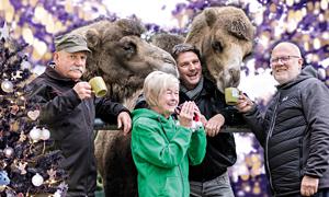 Zoodirektor Hoyerswerda mit den Zoofreunden