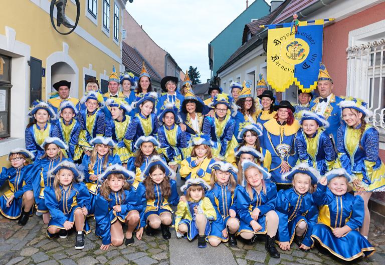 Gruppenfoto unseres Karneval Club Hoyerswerda