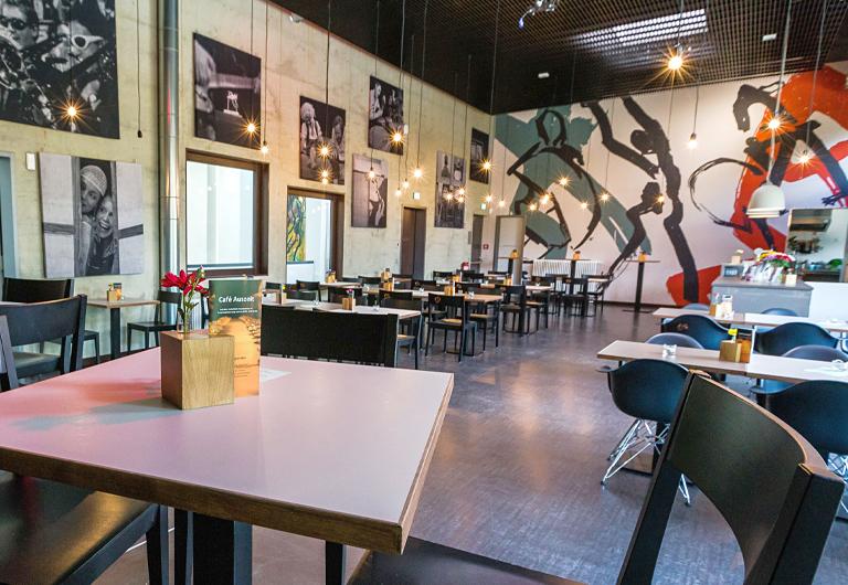 Cafe Auszeit in der Kufa