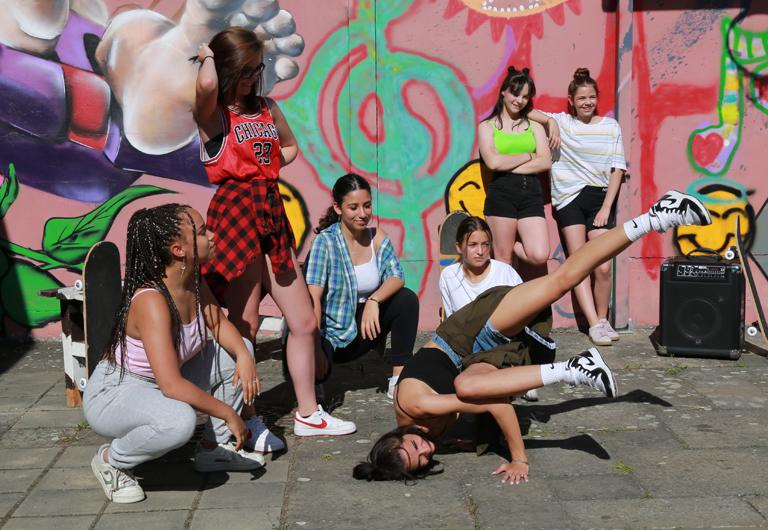Breakdance in Hoyerswerda