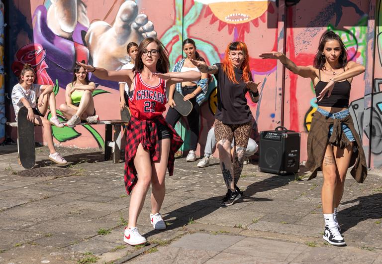 Streetdance im Ossi Hoyerswerda