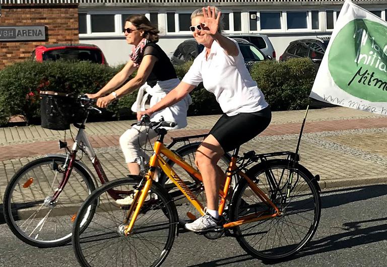 Fahrrad-Stadt Hoyerswerda on Tour