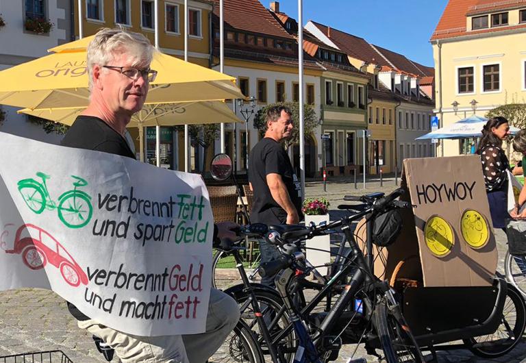 Fahrrad-Stadt Hoyerswerda Olaf Winkler