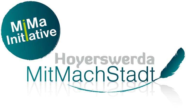 Logo der MitMachStadt Hoyerswerda