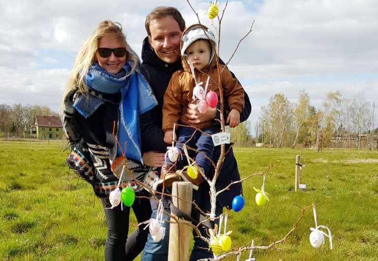 Hoyerswerda-MitMachStadt-Ostern-Familie
