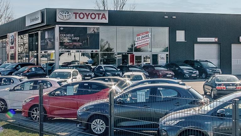 Autohaus Schiefelbein Toyota in Hoyerswerda