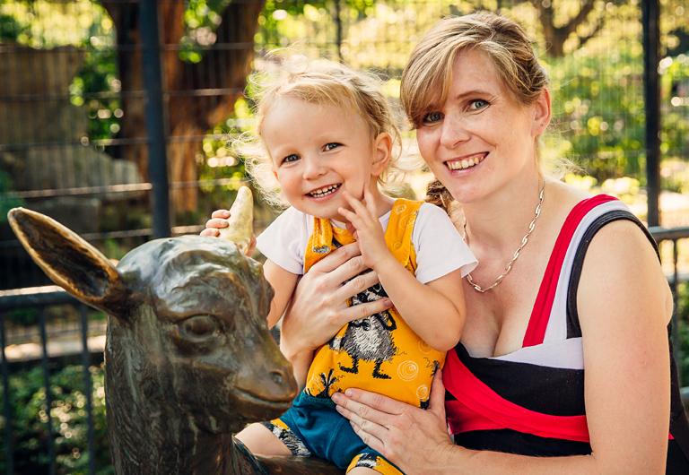 Plastiken im Zoo Hoyerswerda