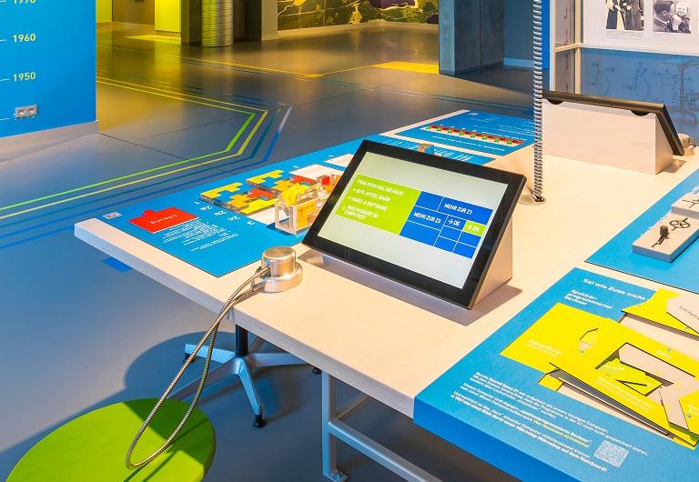 Interaktiv digital im Computer Museum