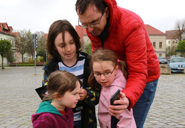 digitale Version der Stadt-Rallye für Kinder